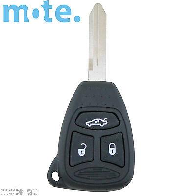 Jeep Grand Cherokee KK Model 2008 - 2012 3 Button Key Remote Case/Shell/Blank