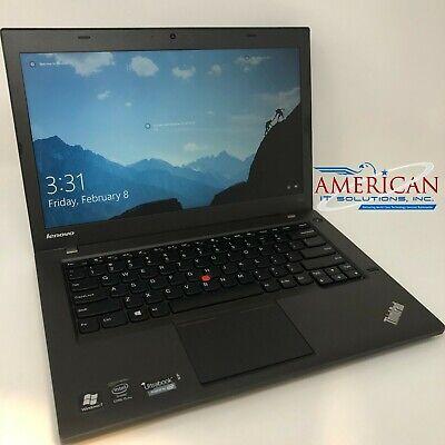 Lenovo T440 - Core i5 @ 2.9GHz - 8GB RAM - 128GB SSD - Webcam - Windows 10 Pro