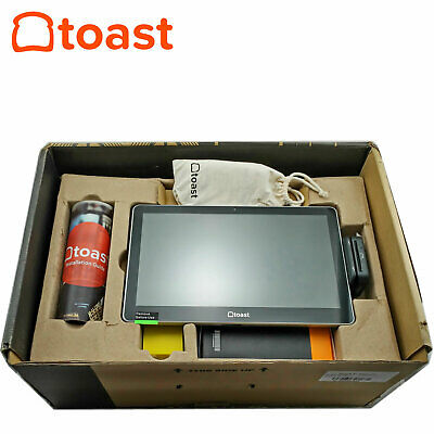 Toast Flex Tt200 14 Touch-screen Point Of Sale Pos Terminal System Card Reader