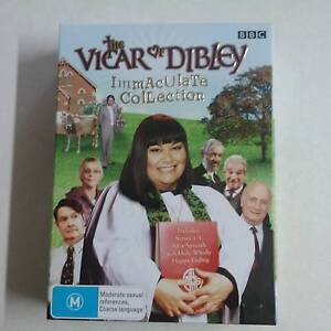 The Vicar of Dibley Immaculate Collection DVD Box Set Wishart Brisbane South East Preview