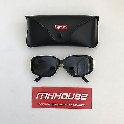 New Supreme Royce Sunglasses Black Gold Made in Italy Spring Summer 2017 (Summer Sunglasses 2017)