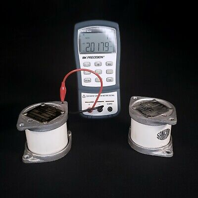 Sangamo G1b Mica Transmitting Capacitor 2nf 6kv Rf Radio Tesla - Tested