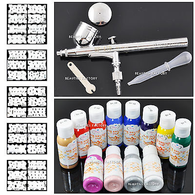 Airbrush Painting Spraying Paints Stencil Set 235
