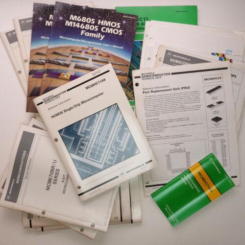 Motorola MC6805 Series Manuals Lot