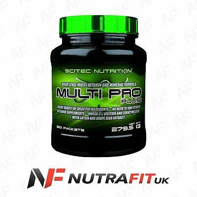 SCITEC NUTRITION MULTI PRO PLUS 30 packets multi vitamin mineral formula