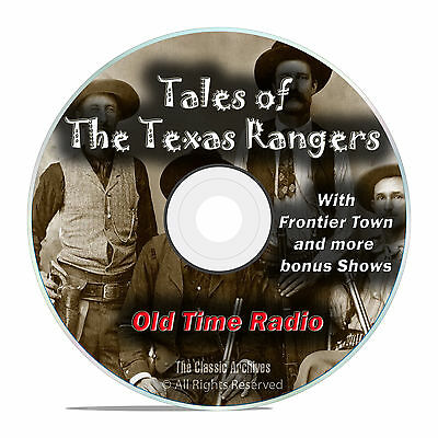 Tales of the Texas Rangers, 205 Episodes Old Time Radio Westerns OTR DVD MP3 (Old Time Radio Westerns)