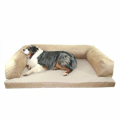 Large Dog Bed Sofa Couch Washable Luxury Pet Orthopedic Cushion Big Quality XL