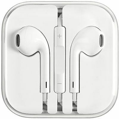 New Earphones EarBuds For iPhone 4, 5, 6 with Microphone and volume control ()