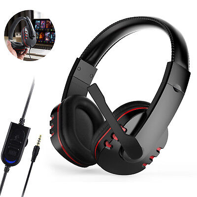 Купить WowParts - 3.5mm Gaming Headset Stereo Surround Headphone With Mic For PS3 PS4 Xbox ONE 360