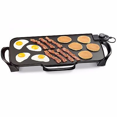 Grill Pan Electric Griddle Stove Top Grill Pancake Plate Best Large Cook