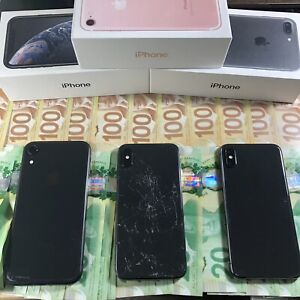 I Pay CASH for your Used Cracked or Damaged iPhone 7, 8, X, XR