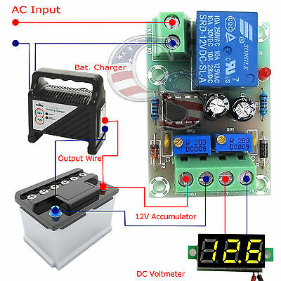 12v Charger Charging Control Module Lithium Lead Battery Protection Board