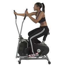 Elliptical Bike 2 IN 1 Cross Trainer Exercise Fitness Machine Home Gym Workout