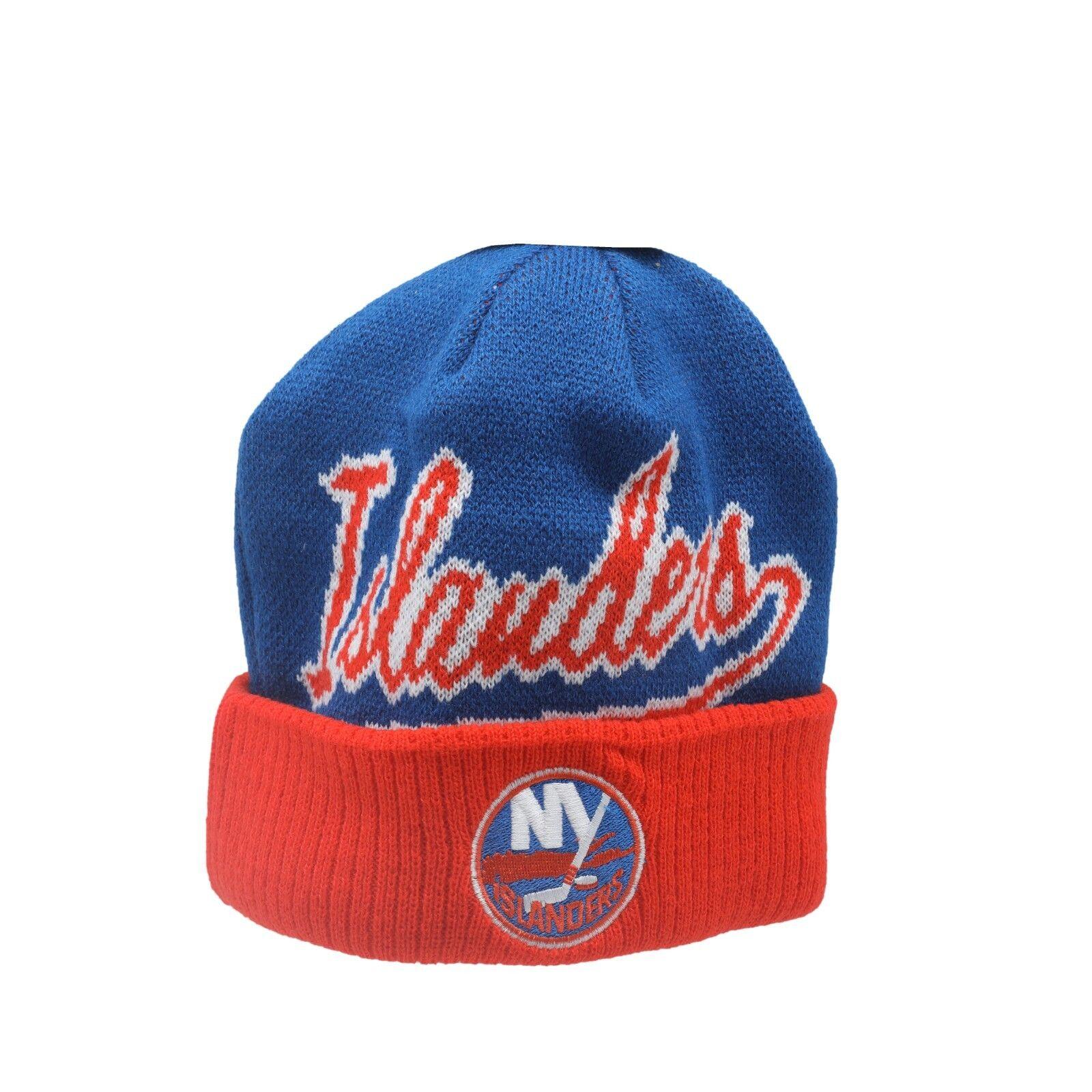 0b583065c30 New York Islanders NHL Reebok Youth Boys (8-20) Cuffed Winter Beanie Hat  Cap New