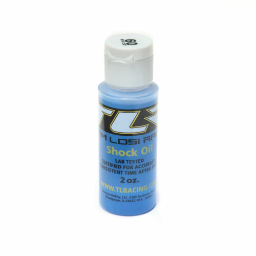 60 wt Silicone Shock Oil 2 Oz Team Losi Racing TLR74014