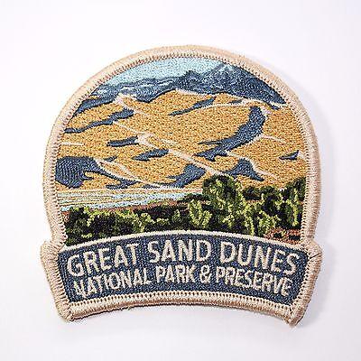 Official Great Sand Dunes National Park & Preserve Souvenir Patch Colorado