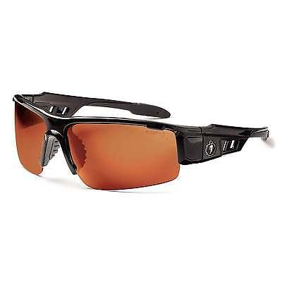 Ergodyne Copper Lens Safety Glasses Dagr, Black - EGO52020