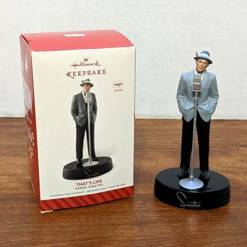 "Frank Sinatra Hallmark Keepsake Ornament 2014 - Plays ""That"