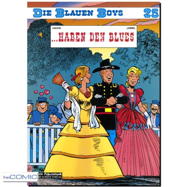 DIE BLAUEN BOYS 25 ...haben den Blues 9783899081176 FUNNY WESTERN COMIC