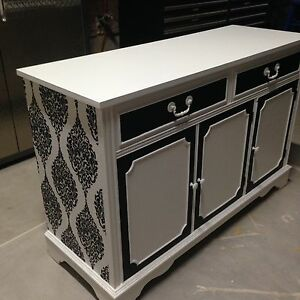 Elegant Custom finished Credenza/ Buffet