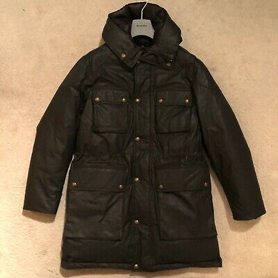 Belstaff Arctic Speedmaster Down Parka Black Size IT 58 / UK 48 RRP: £1,075.00 Arctic Down Parka