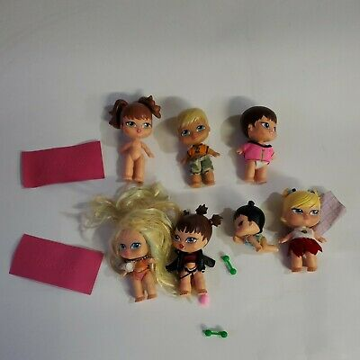 G15 BRATZ Doll Lot of 7 Babyz Lil Bratz Kidz 5 inches
