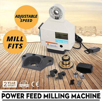 X Axis Power Feed Milling Bridgeport Acer Adjustable Speed Milling Machine