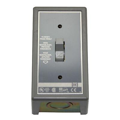 Square D 2510fg1 Fhp Manual Motor Starter Toggle Switch Nema-1 16a 115-277v