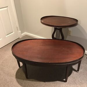 Beautiful Solid Wood Duncan Pfyffe Coffee and  Two End Tables