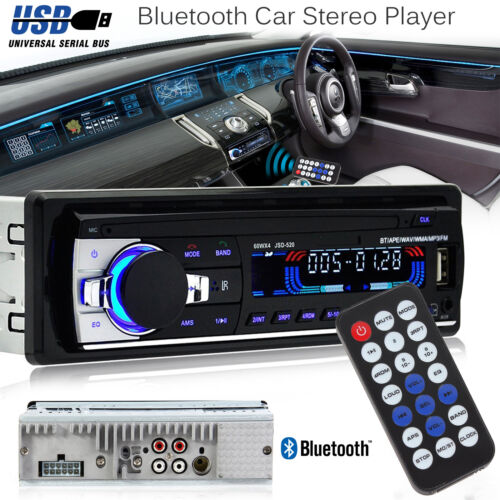 $18.19 - Bluetooth Car In-Dash FM Radio Stereo Audio Receiver SD USB Aux Input MP3 Player