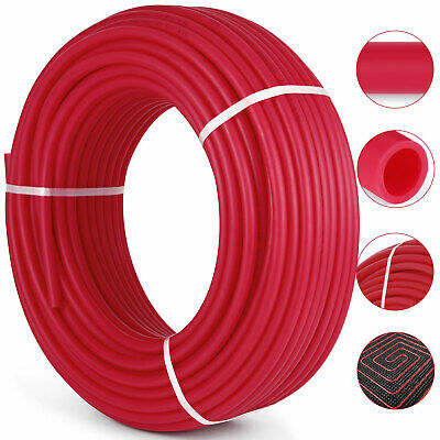 34 X 300ft Pex Tubing Oxygen Barrier Pex Pipe O2 Evoh Radiant Floor Heat Red