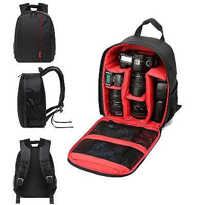 Camera Backpack Bag For For Nikon D810 D750 D7200 D5500 D3300 D3400 D500 7000