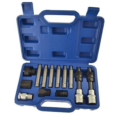 Alternator tool set  repair  removal  pulley  BOSCH 13pc kit AT169