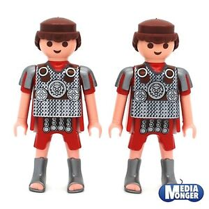 playmobil® Römer Grundfigur: 2 x Legionär | Centurio mit silbernen Stiefeln