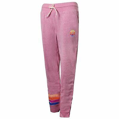 Converse Junior Girls Sunset Jogger Sweat Track Pants Pink 466284 A4P