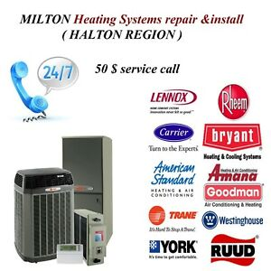 Milton Furnace repair available today
