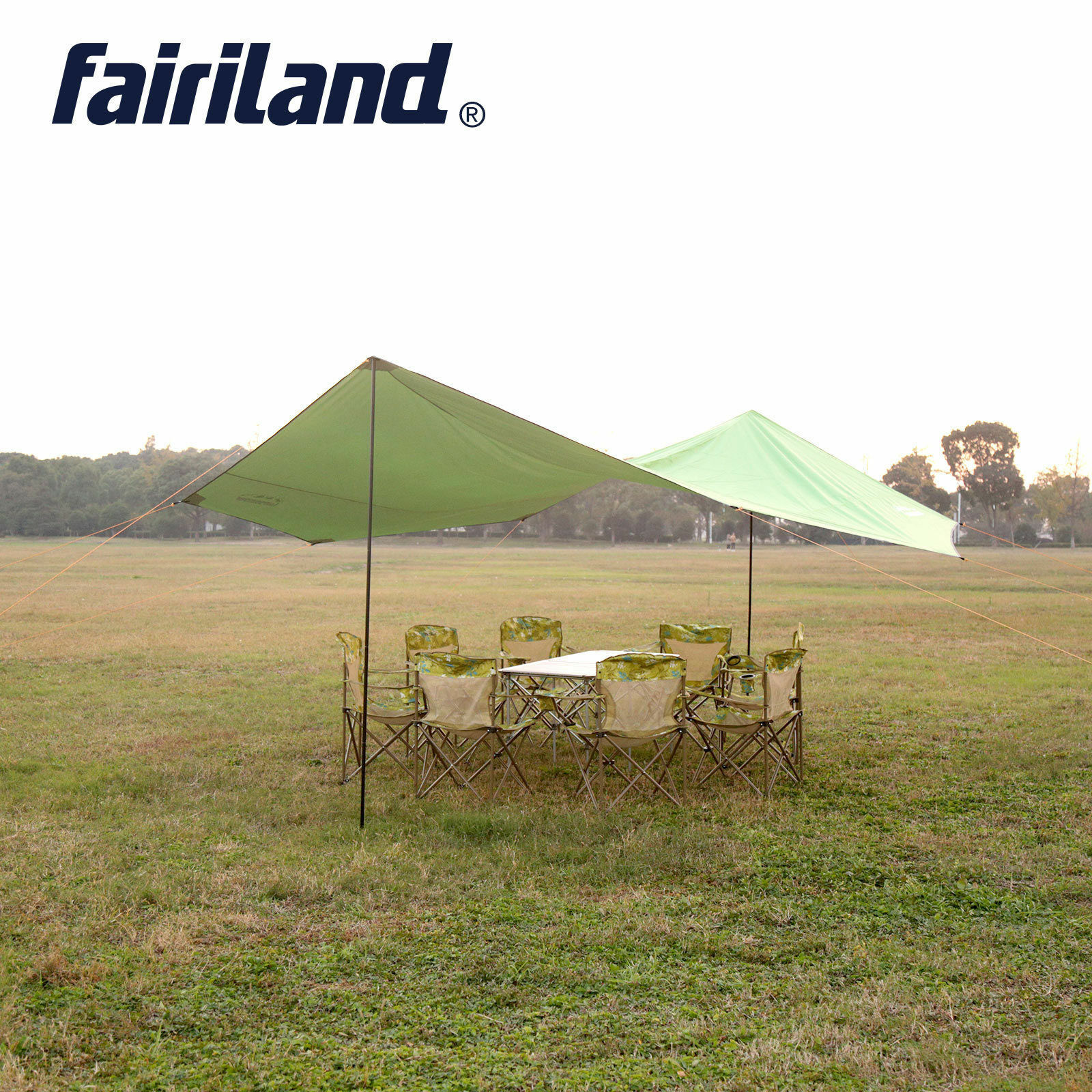 US New Outdoor Waterproof Hammock Floding Camping Tent 6//8 Persons Sun Shelter