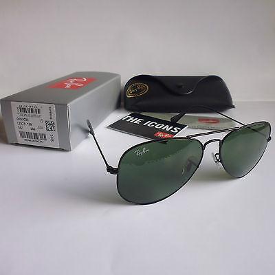 NEU Ray Ban Sonnenbrille RB3025 L2823 58-14 Aviator Pilotenbrille NEU