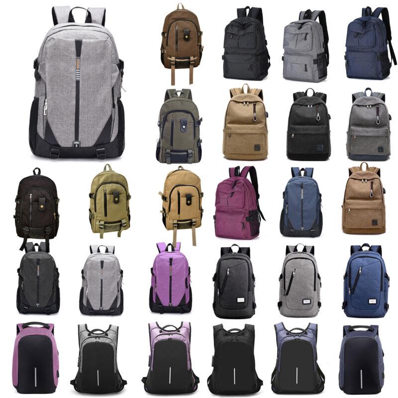 7a1a0a29c9a04 Herren Damen Schulrucksack Reisen Laptop Schule Arbeit Wandern Rucksack  Tasche
