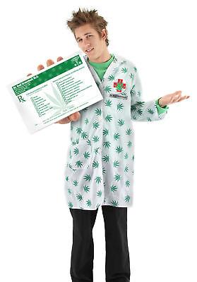 DR BUD GREENLEAF POT DOCTOR MD ADULT HALLOWEEN COSTUME  (Greenleaf Costumes)