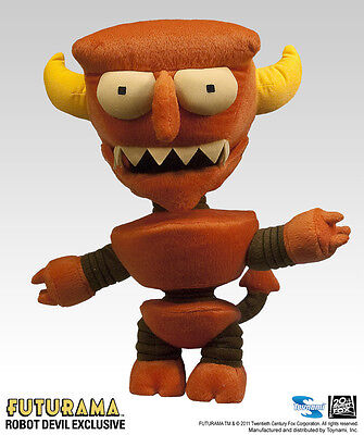 Futurama Robot Devil Plush - 2011 SDCC Exclusive
