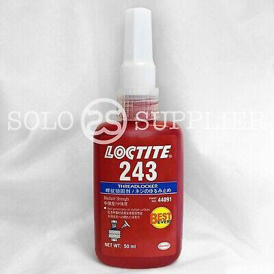 Loctite 243 Blue Medium Strength Threadlocker 50ml