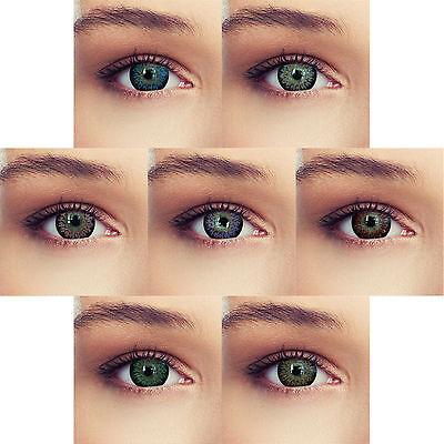 Farbige Big eye Cosplay Manga Kontaktlinsen DIA: 15,00mm Design Serie: Princess