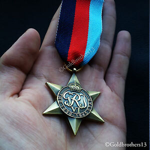 The 1939 - 1945 Star Ww2 Military Medal British Commonwealth Operational Service