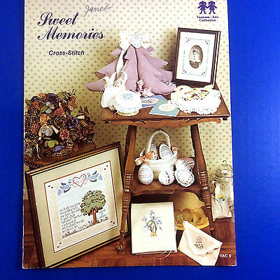 Sweet Memories Counted Cross Stitch Chart Vanessa-Ann Collection 1981