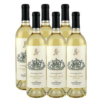 Grand Napa Wine 2013 Rutherford Sauvignon Blanc (6 Bottles)