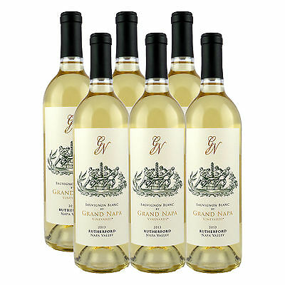 Grand Napa Wine 2013 Rutherford Sauvignon Blanc (6 Bottles)