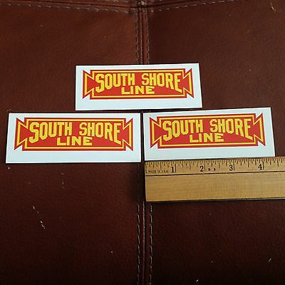 Railroad Decals (3) -Chicago South Shore and South Bend - free