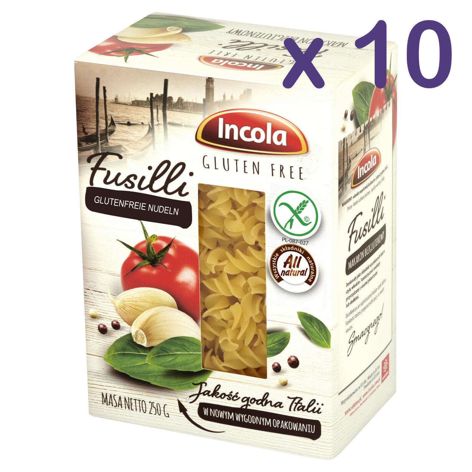 (10,36€/kg) GLUTENFREI Nudeln FUSILLI 2,5kg glutenfreie Pasta Laktosenfrei