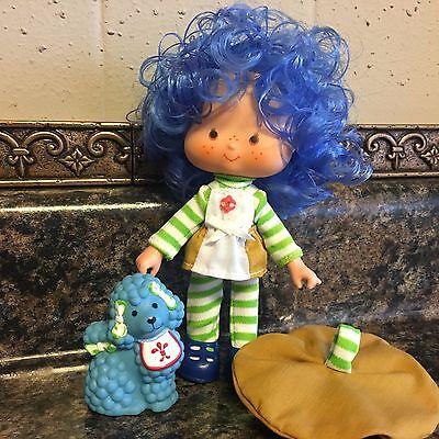Vintage Strawberry Shortcake Dolls ~ Crepe Suzette & Eclair ~ SSC Berry Sweet ~